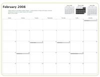 Kiva Calendar 2008 - February
