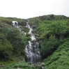 Day 2 - A large waterfall in the Far Easedale Gill valley.  Missed on previous trips due to the mist