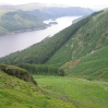 Day 3 - The view north up Thirlmere from Comb Crag (on the way up to Helvellyn