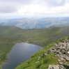 Day 3 - Red Tarn, Striding Edge and a bit of Ullswater from the top of Helvellyn