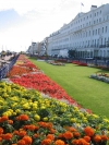 Bedding on the seafront at Eastborne