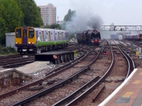 Steam Dreams, the Duchess of Sutherland at Clapham Junction