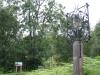 Ashdown Forest sign, next to Fairwarp Village