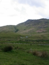 Lake District passes looking up Hardknott Pass