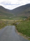 Lake District passes along Hardknott Pass