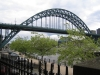 Bridges of Newcastle. The Tyne Bridge from Guildhall