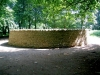 Yorkshire Sculpture Park, June 2007. Outclosure by Andy Goldsworthy - view from outside