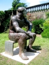 Yorkshire Sculpture Park, June 2007. Sculpture by Dame Elisabeth Frink