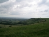 View towards the east from Ditchling Beacon