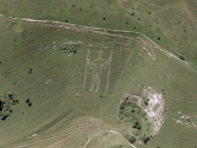 Long Man of Wilmington (image from Google Maps)