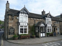 The Old Nags Head, the start of the Pennine Way in Edale