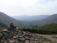 The view south from the top of Jacob\'s Ladder