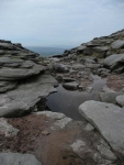 The view out from Kinder Downfall