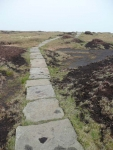 The path up and across Black Hill