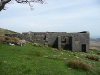 Top Withens, the farmhouse associated with Wuthering Heights - but which bears no resemblance to it