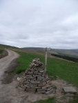 The Pennine Way along from Cam End