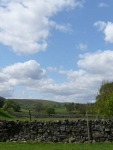The view along the Teesdale valley