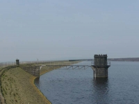 Warland Reservoir, one of many on this stretch of the Pennine Way