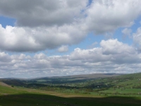 The view into the Teesdale valley