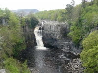 High Force on the River Teesdale, viewed from the side where you do not have to pay!