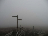 The Cheviot is somewhere in the low cloud