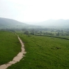 The view back to Edale