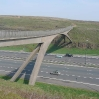 The bridge over the M62