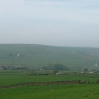 The view north from near Colden looking towards Heptonstall Moor