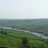 The view back over Ponden Reservoir