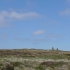 Fountains Fell, with two cairns