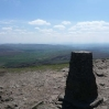 The view south from Pen-y-ghent