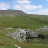 The view towards Pen-y-ghent from near Horton in Ribblesdale - close to the end of day 7