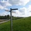 Where the Bowes loop rejoins the main Pennine Way near Baldersdale