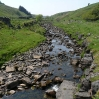 One of the many little vallies and streams running into the River South Tyne