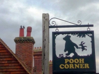 Pooh Corner sign in Hartfield