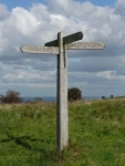 Still on the right route of the South Downs Way