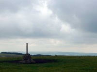 The view from the top of Broad Moor, looking East