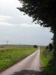 The long straight road near Ochtrelure