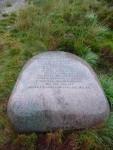 Sculpture along the Southern Upland Way near Loch Dee