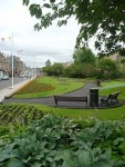 A park in Galashiels and the end of day 8