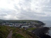 Looking back towards Portpatrick