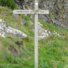 The start of the Southern Upland Way in Portpatrick