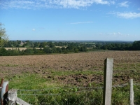 The view north, looking back towards Newick