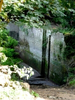 Isfield Lock, recently uncovered by archaeologists