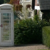 A white telephone box in Slaugham