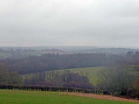 The view towards Ashdown Forest