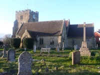 East Hoathly Church, the end of day 1