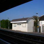 Newhaven railway station - Vanguard Way done