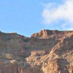 Israel 2005 - Mountains above the Kibbutz Ein Gedi