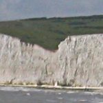 The start of The Seven Sisters at Cuckmere Haven